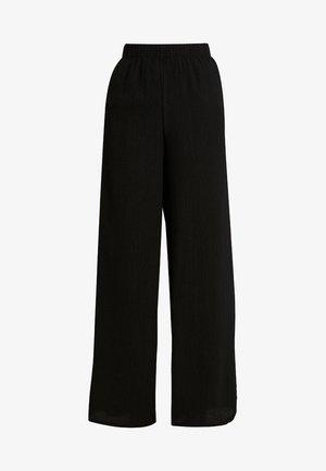 ENLOMBARD PANTS - Stoffhose - black