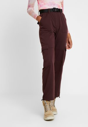 ENWALNUT PANTS - Pantalon classique - fudge