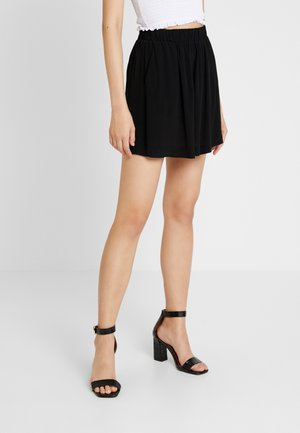 ENJUSTICE SKIRT - Minijupe - black