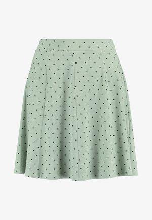 ENMUSIC SKIRT - A-line skirt - iceberg