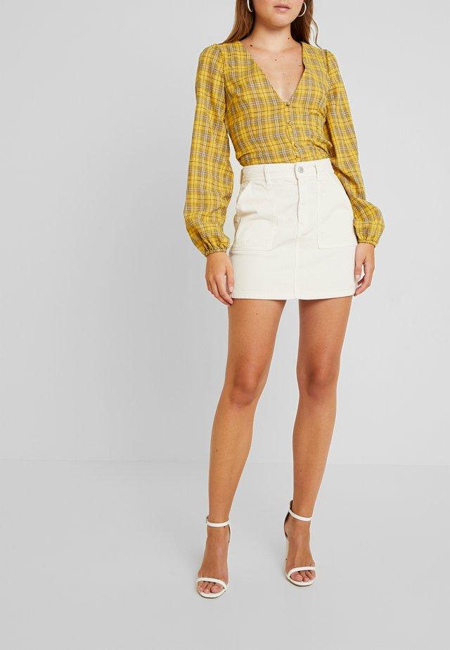 ENSEVILLA SKIRT - A-line skirt - gardenia
