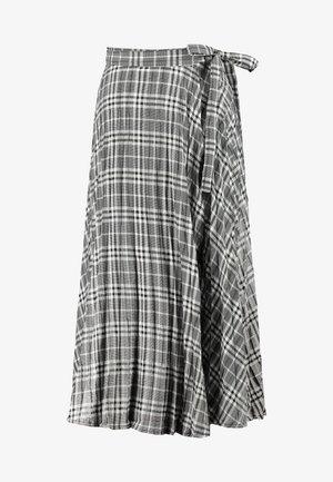 ENFULLERTON SKIRT - A-line skjørt - black/white