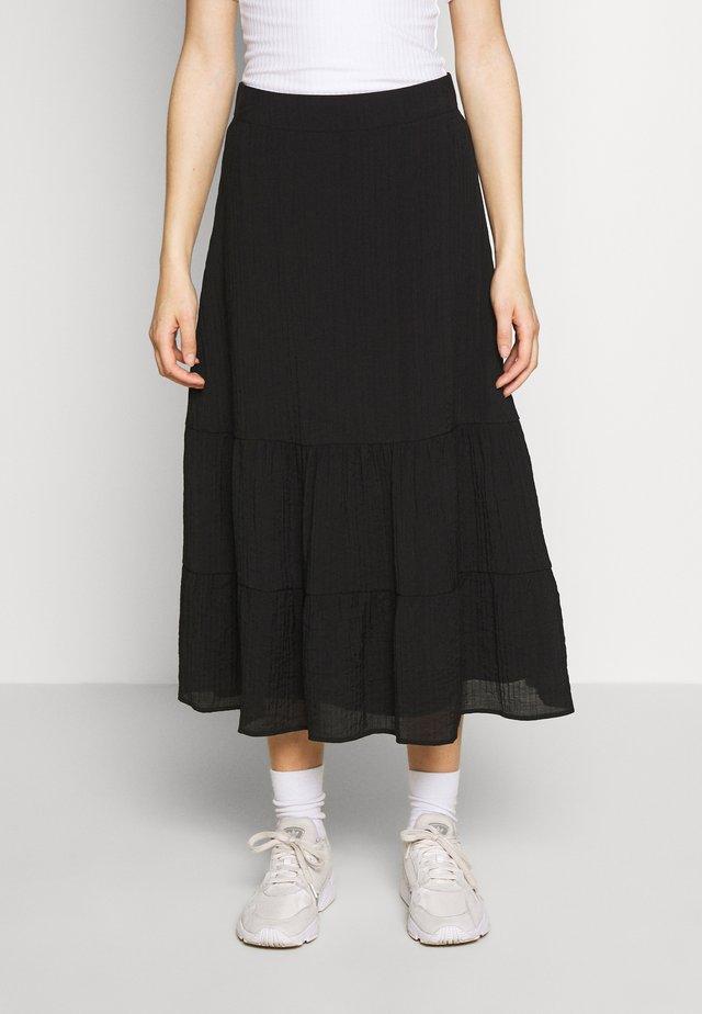 ENREAL SKIRT  - A-line skirt - black