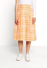Envii - SKIRT - Áčková sukně - orange - 0