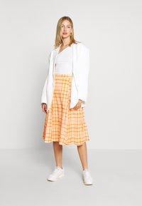 Envii - SKIRT - Áčková sukně - orange - 1