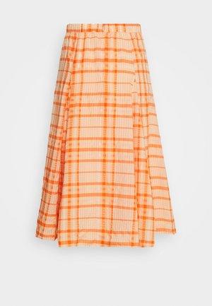 SKIRT - Spódnica trapezowa - orange