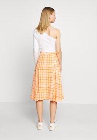 Envii - SKIRT - Áčková sukně - orange - 2