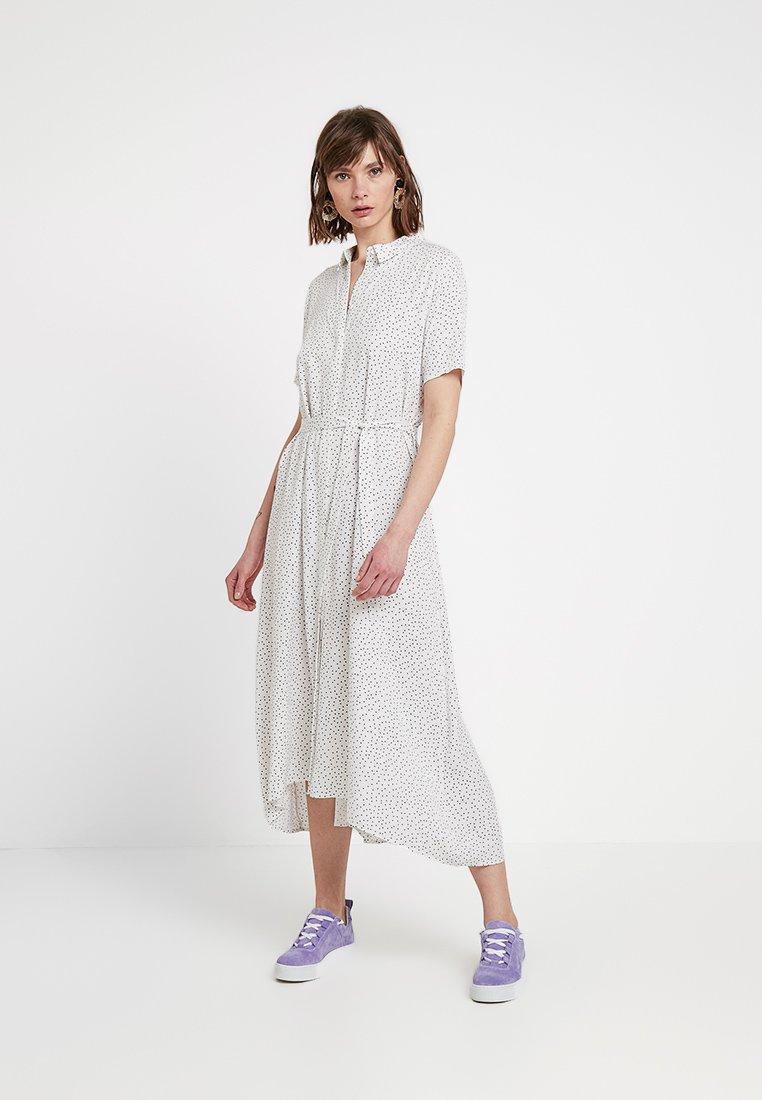 Envii - ENTRIBE DRESS - Blusenkleid - cream dot