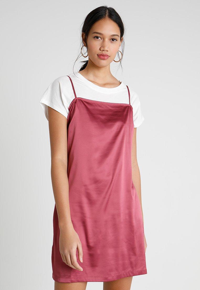 Envii - ENLEIPZIG DRESS - Day dress - hawthorn rose