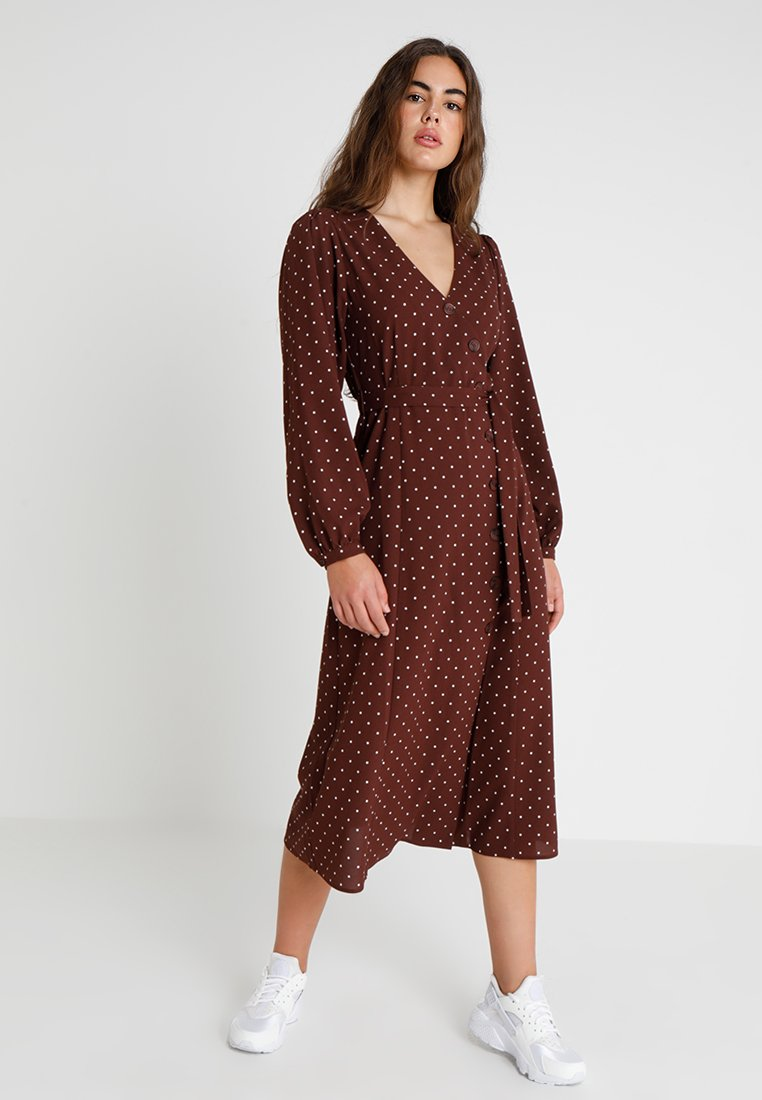 Envii - ENRODIN DRESS - Maxikleid - choko