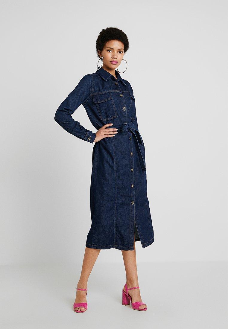 Envii - ENSURREAL DRESS - Denim dress - intense blue