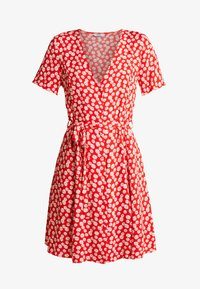 Envii - ENFAIRFAX DRESS - Skjortekjole - red daisy - 4