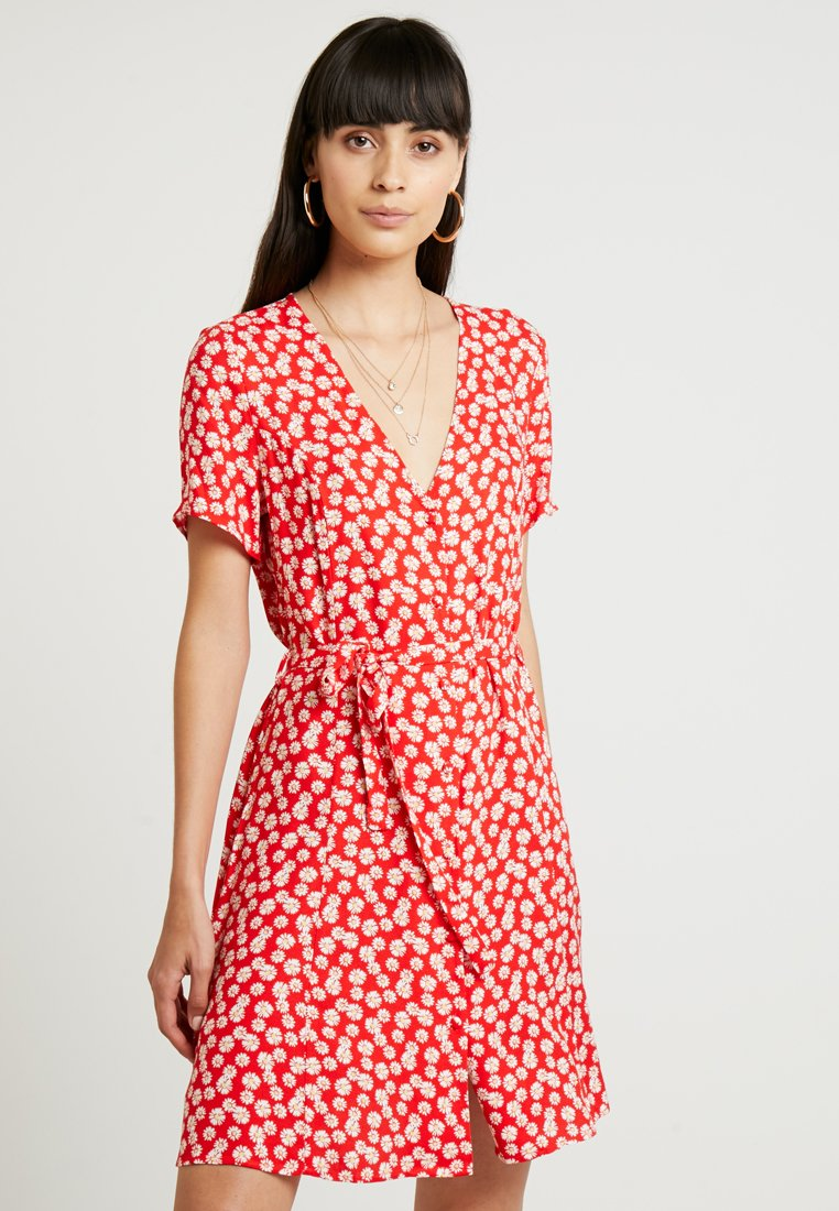 Envii - ENFAIRFAX DRESS - Skjortekjole - red daisy