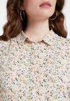Envii - ENMOORE DRESS - Skjortekjole - beige/multi-coloured