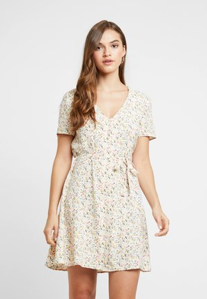 ENFAIRFAX DRESS - Skjortekjole - beige/multicolor