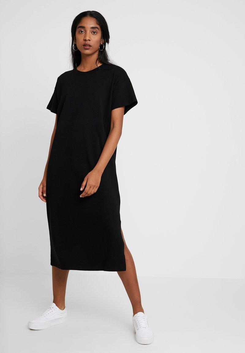 Envii - ENELECTRIC DRESS - Maxikleid - black