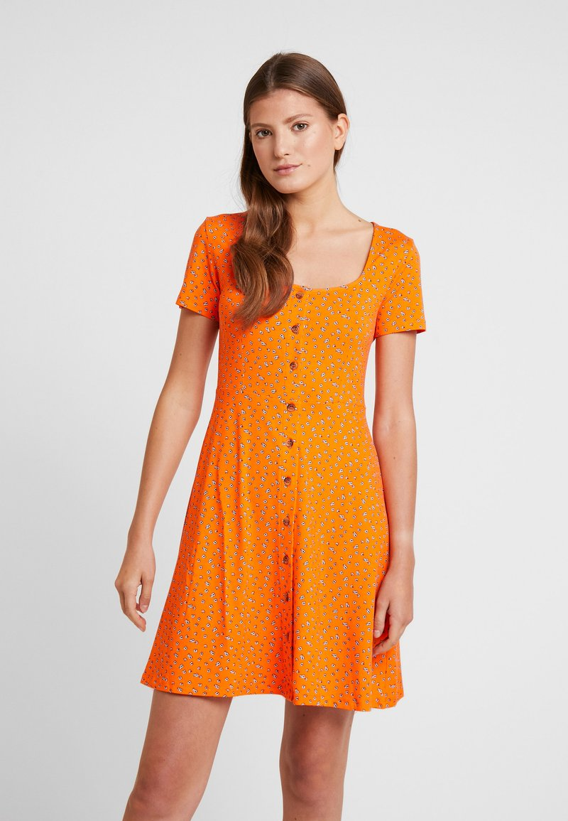 Envii - WIMBLEY DRESS - Jerseyjurk - orange