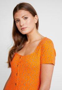 Envii - WIMBLEY DRESS - Jerseyjurk - orange - 3