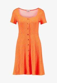 Envii - WIMBLEY DRESS - Jerseyjurk - orange - 4