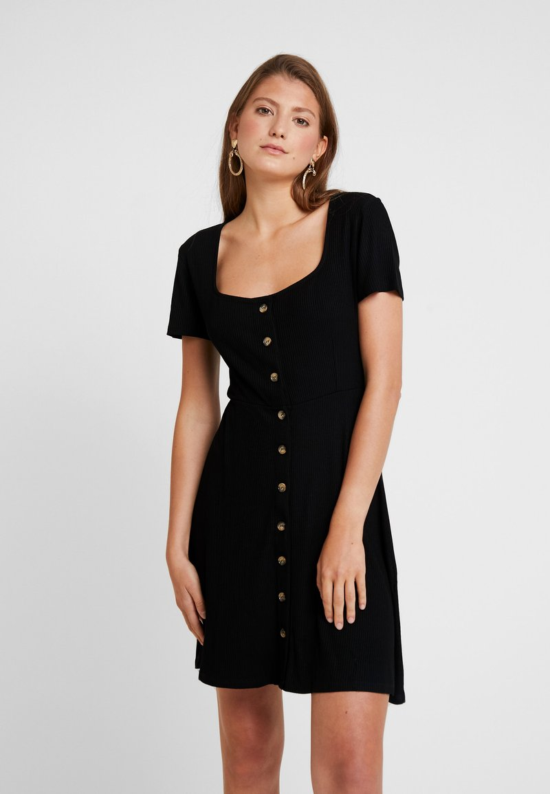 Envii - WIMBLEY DRESS - Jerseykleid - black