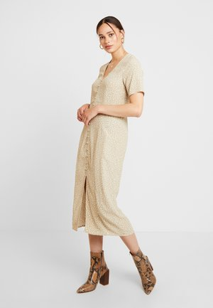 ENJOHN LONG DRESS - Blousejurk - beige