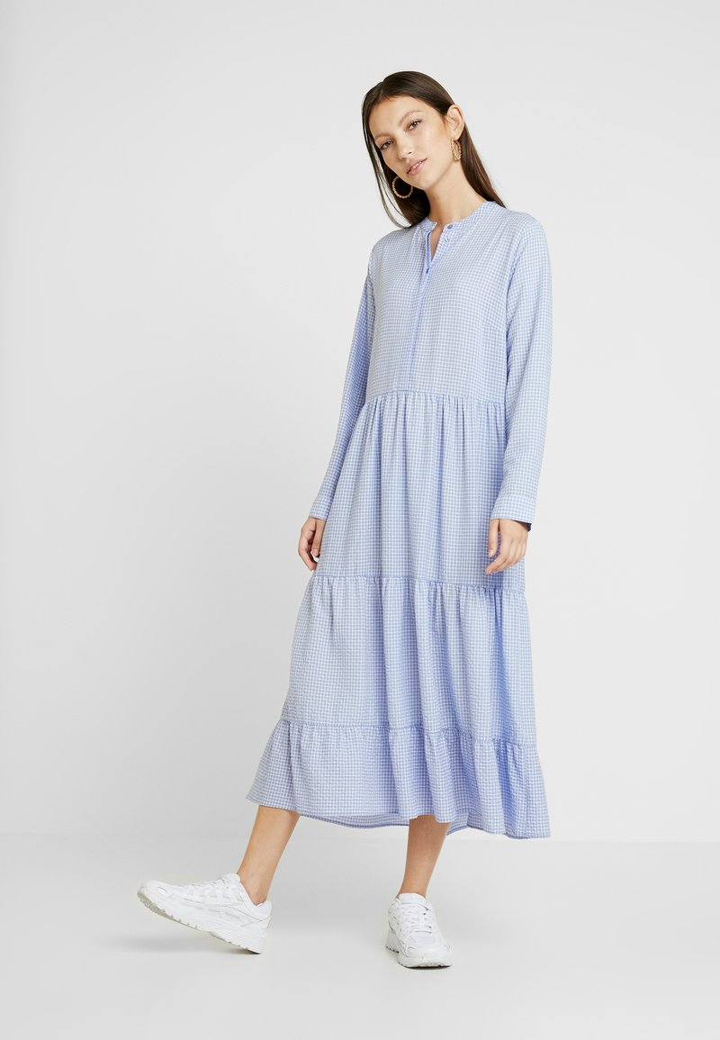 Envii - ENCITRUS MAXI DRESS - Day dress - lavender check