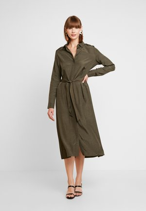 ENDATE DRESS - Maxikjole - olive night