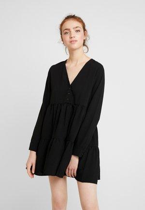 ENTEAK DRESS - Korte jurk - black