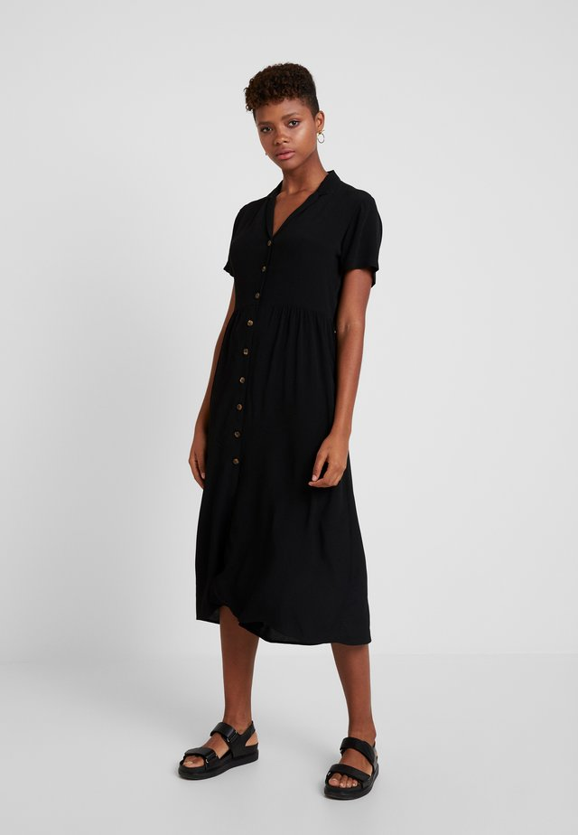ENNAPLES DRESS - Košilové šaty - black
