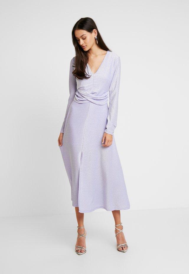 ENLUMI DRESS - Jersey dress - smokey glitter