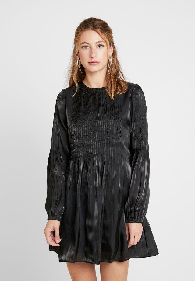 ENOPAL LS DRESS - Korte jurk - black