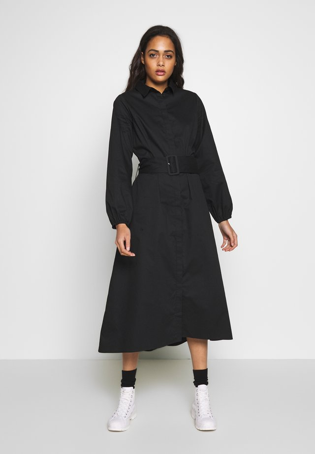 ENDENA  DRESS - Shirt dress - black