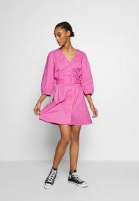 Envii - ENDENA  DRESS - Vestito estivo - fuschia pink - 1