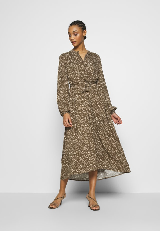 ATELIER LONG DRESS - Shirt dress - brown
