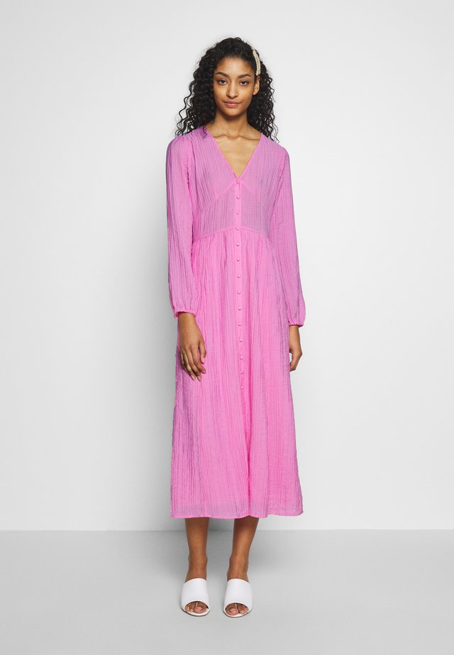 ENTEN DRESS - Sukienka koszulowa - fuchsia pink