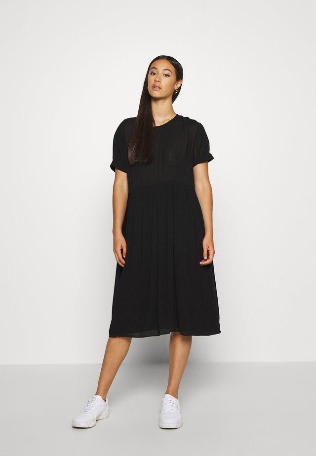 ENASTER DRESS  - Freizeitkleid - black