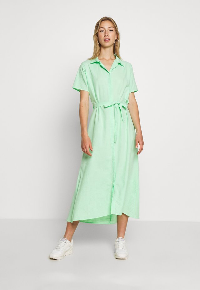 SISTER DRESS  - Shirt dress - green ash