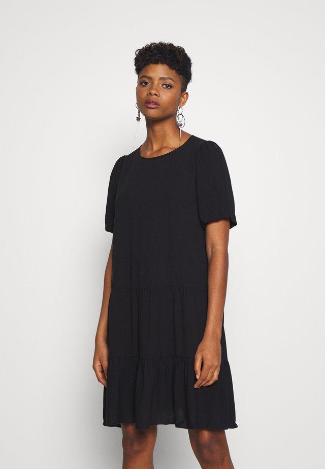 FIREBIRD DRESS - Korte jurk - black