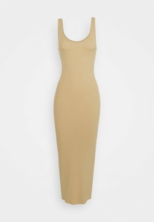 ENALLY DRESS - Maxi-jurk - travertine