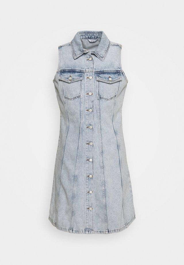 ENSPARTACUS DRESS - Denim dress - vintage light blue