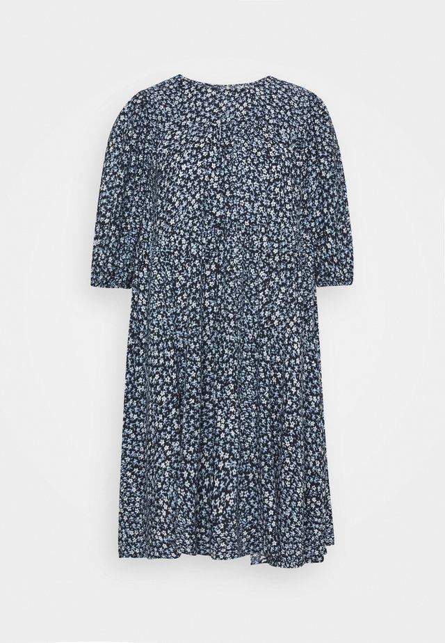 ENSALVATION DRESS - Freizeitkleid - dark blue