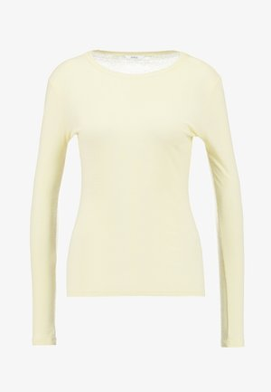 ENVELDA TEE - Long sleeved top - lemon curd