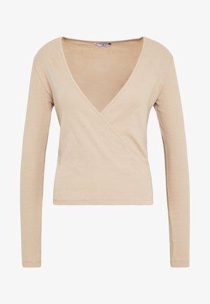 ENALLY - Long sleeved top - doeskin