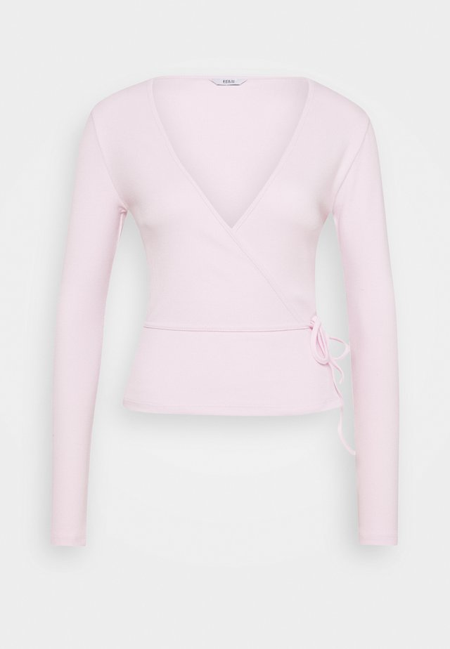 ENALLY - Long sleeved top - lilac snow