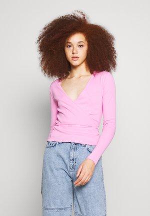 ENALLY - Topper langermet - fuchsia pink