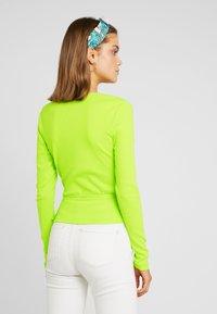 Envii - ENALLY - Langærmede T-shirts - lime punch - 2