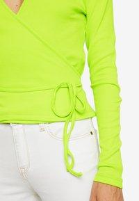 Envii - ENALLY - Langærmede T-shirts - lime punch - 4