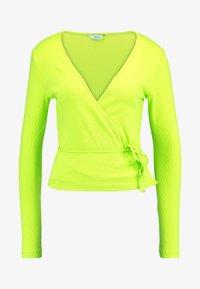 Envii - ENALLY - Langærmede T-shirts - lime punch - 3