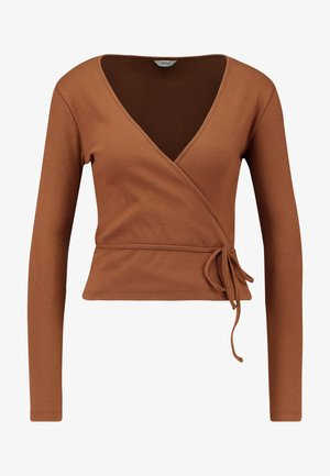 ENALLY - Long sleeved top - toffee