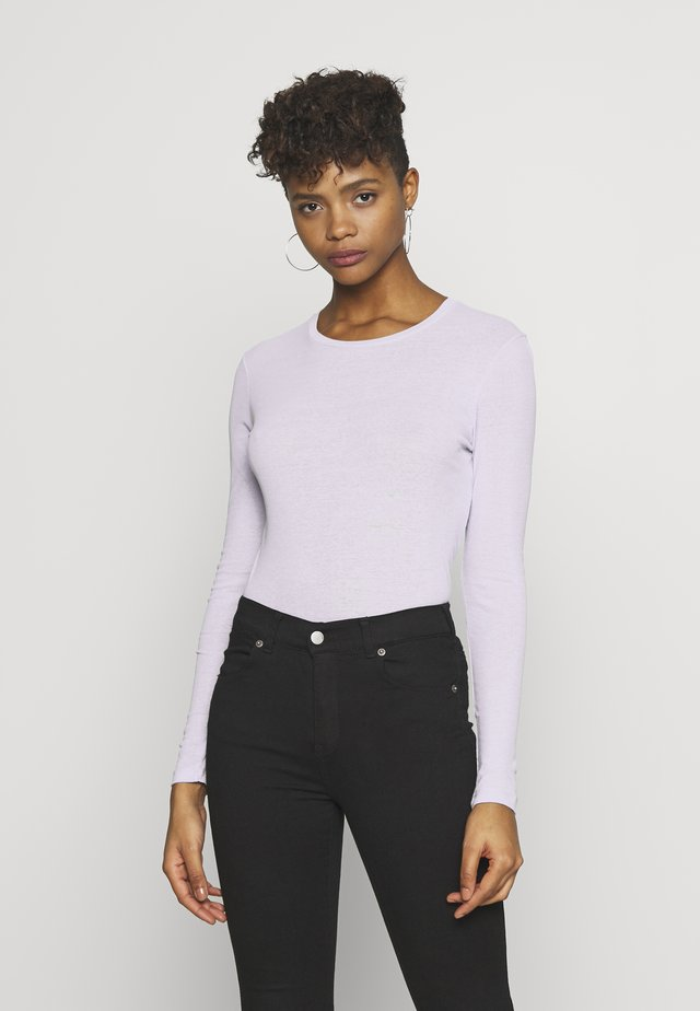 ENVELDA TEE - Long sleeved top - purple